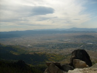 Overlooking Butte, MT Valley